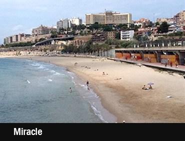 Buceo en playa del Miracle (Tarragona)